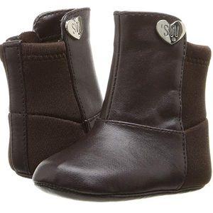 Stuart Weitzman Baby Girl 50 50 Boot BROWN